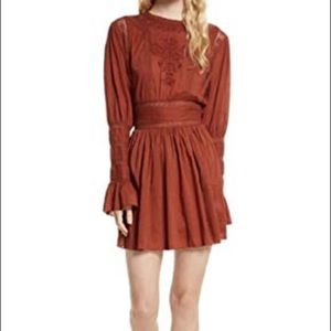 Free People Bronze Dress